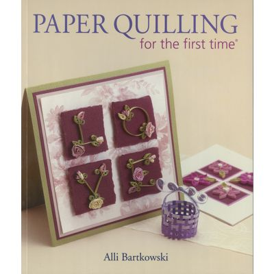 Lark Books Paper Quilling For The First Time - LB-95899