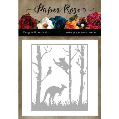 Paper Rose Dies Kangaroo In Forest - PR16948