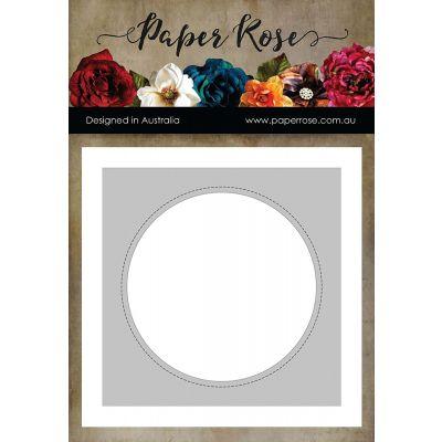 Paper Rose Dies Nesting Stitched Peek A Boo Circles - PR16751