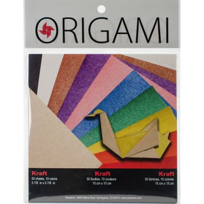 Fold 'Ems Origami 2 Sided Paper 5.875