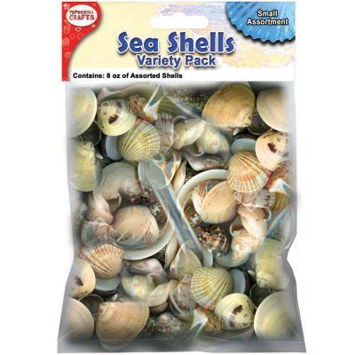 Mixed Sea Shells 8Oz Small - DECS8S
