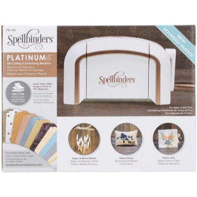 Spellbinders Platinum 6.0 Cut & Emboss Machine  - PE100