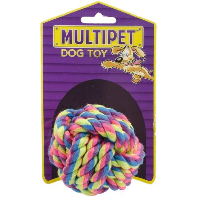 Multipet Nuts For Knots Dog Toy 2.5