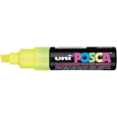 Uni Paint Posca Paint Marker Pen Fluorescent Yellow - PC85F-63831