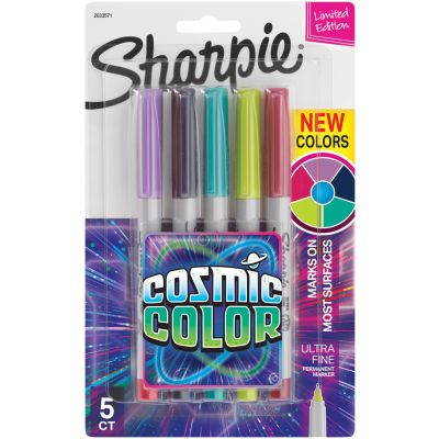 Sharpie Cosmic Color Ultra Fine Point Markers 5/Pkg  - 2033571
