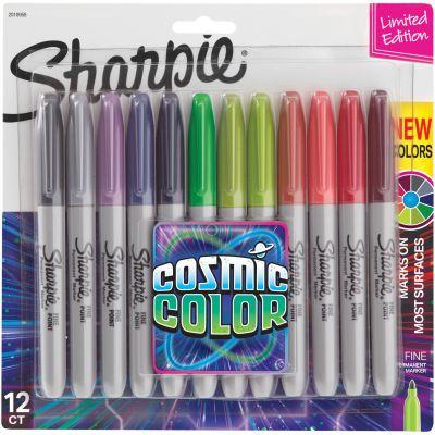 Sharpie Cosmic Color Fine Point Markers 12/Pkg  - 2010958