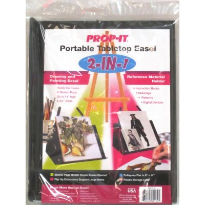 Prop It 2 In 1 Portable Tabletop Easel  - 2174