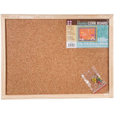 Framed Cork Memo Board 12