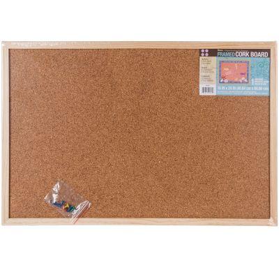 Framed Cork Memo Board 16