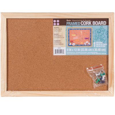 Framed Cork Memo Board 9