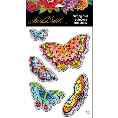 Stampendous Laurel Burch Dies Imagine Butterflies - LBDCS08