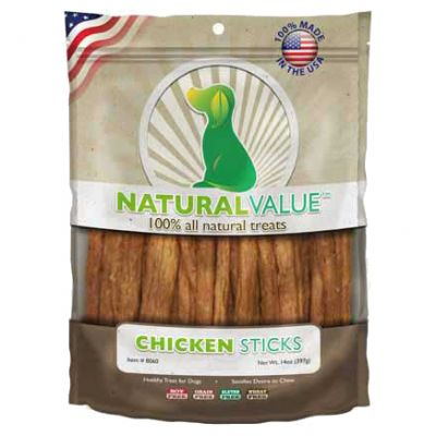Natural Value Treats 14Oz Chicken Sticks - LP8060
