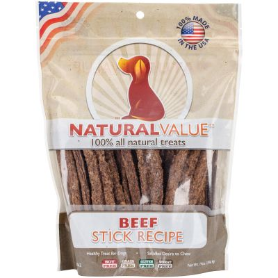 Natural Value Treats 14Oz Beef Sticks - LP8062