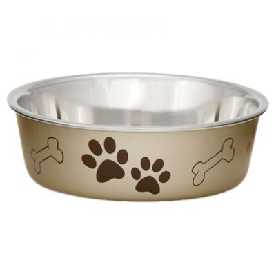 Metallic Bella Bowl Large Champagne - LP7456