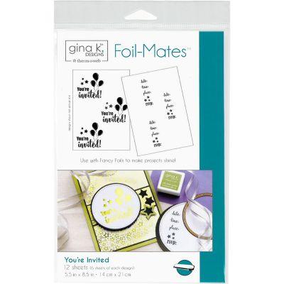Gina K Designs Foil Mates Invitations 5.5