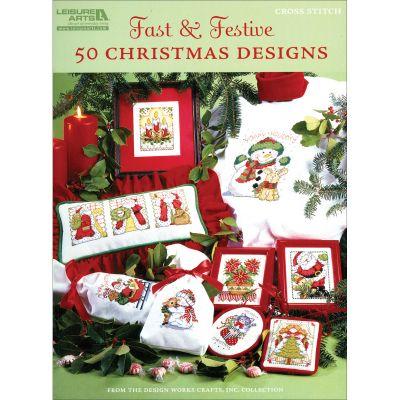 Leisure Arts Fast & Festive: 50 Christmas Designs - LA-5522