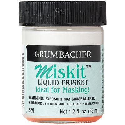 Grumbacher Miskit Liquid Frisket 1.2Oz - 559