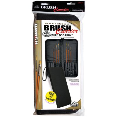 Keep N' Carry Zippered Long Handle Brush Carrier 12.5