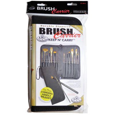 Keep N' Carry Zippered Standard Brush Carrier 12.5