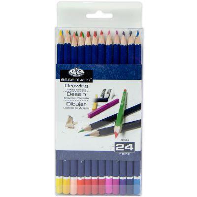 Essentials(Tm) Colored Pencils 24/Pkg  - PEN24