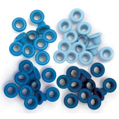 Eyelets Standard 60/Pkg Blue - WER-ES-41578