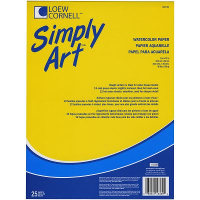 Simply Art Watercolor Paper Pad 9
