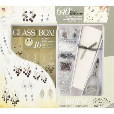 Jewelry Basics Class In A Box Kit Silver Tone Earrings - JB34706-008