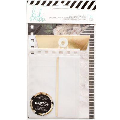 Heidi Swapp Journal Envelopes 3/Pkg Magnolia Jane - HS313664