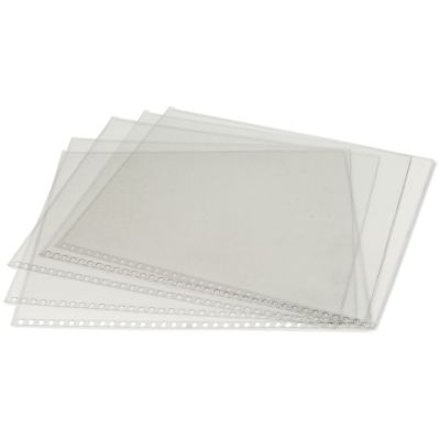 Clear Protective Sleeves 5/Pkg 18