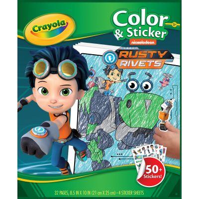 Crayola Color & Sticker Book 10