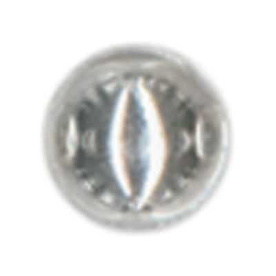 Raised Metal Dots 3Mm Round 125/Pkg Silver - RMD3MM-1981