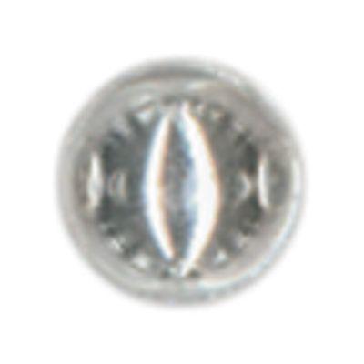 Raised Metal Dots 5Mm Round 64/Pkg Silver - RMD5MM-1982