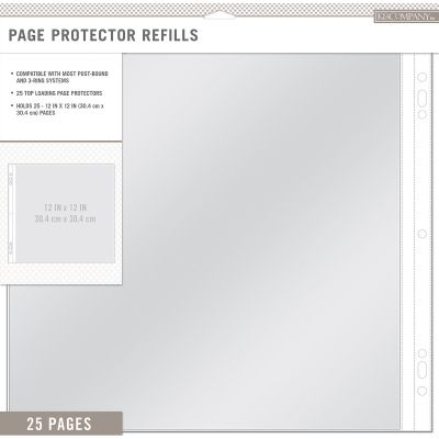 K&Company Page Protector Refills 12