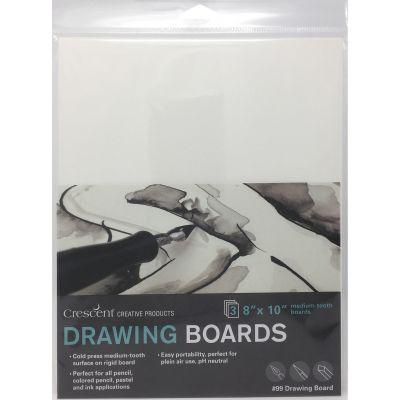 Crescent Drawing Board 3/Pkg-8
