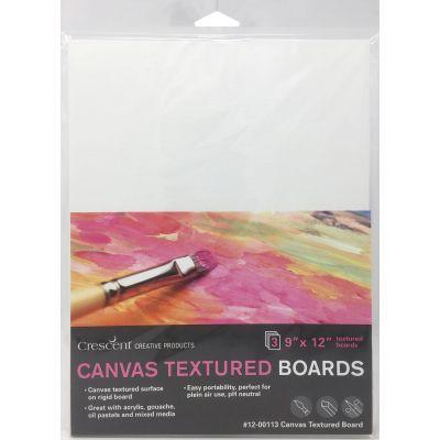 Crescent Canvas Board 3/Pkg-9
