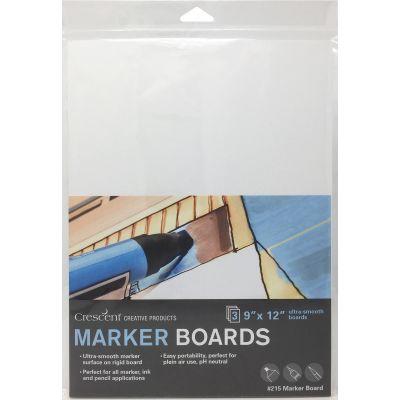 Crescent Marker Board 3/Pkg-9
