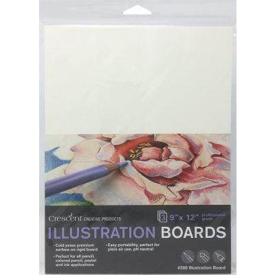 Crescent Illustration Board 3/Pkg-9