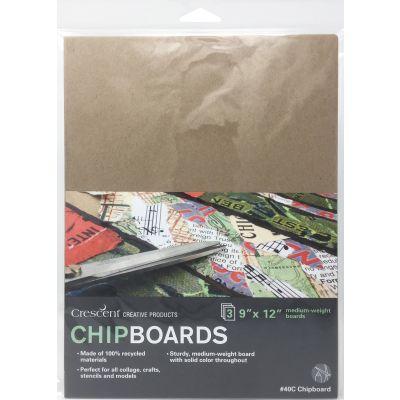 Crescent Chipboard 3/Pkg-9