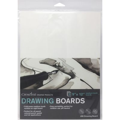 Crescent Drawing Board 3/Pkg-9