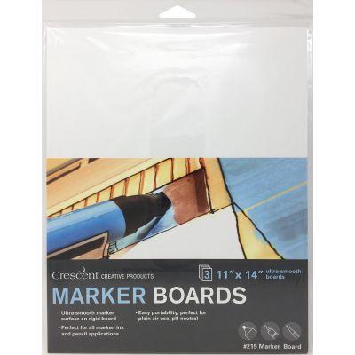 Crescent Marker Board 3/Pkg-11