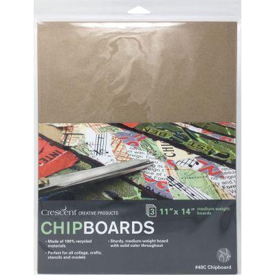 Crescent Chipboard 3/Pkg-11