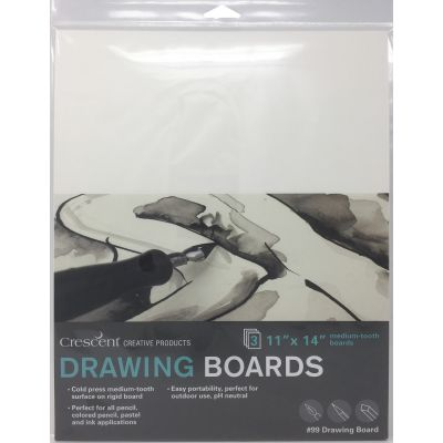 Crescent Drawing Board 3/Pkg-11