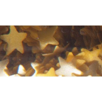 Edible Glitter .04Oz Gold Stars - WEG-200