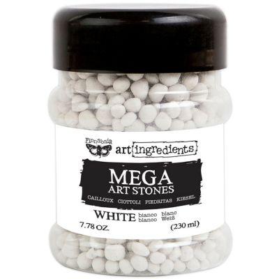 Finnabair Art Ingredients Mega Art Stones 7.78 Ounces White - 964672