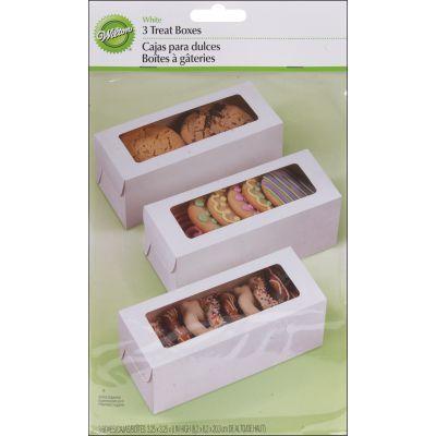 Treat Boxes White 8