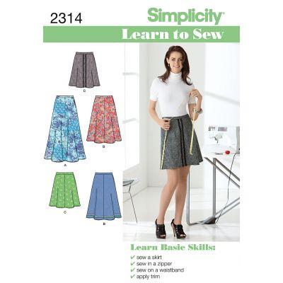 Simplicity Misses Skirts Pants 6 8 10 12 14 16 18 - U02314A