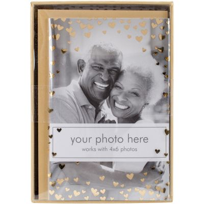 Paper House Boxed Photo Overlay Card Set Heart Confetti - CPO0004X