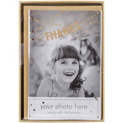 Paper House Boxed Photo Overlay Card Set Thanks Banner - CPO0002X