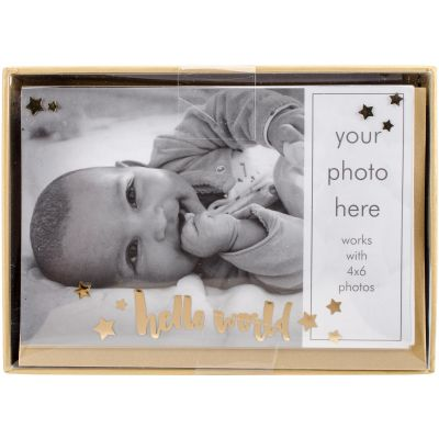 Paper House Boxed Photo Overlay Card Set Hello World - CPO0001X