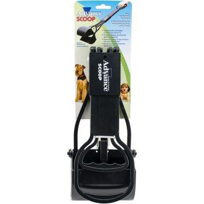 Advance Folding Spring Loaded Dog Scoop Black - 08002BLK
